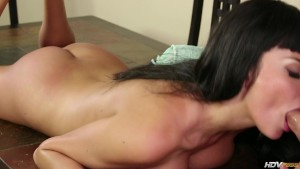 Busty Girl Rammed On Table