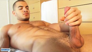 Farid s huge cock gets wanked by a guy in spite of him !