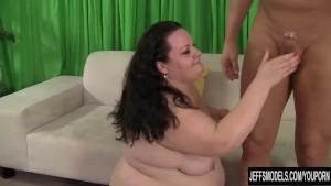 Cock hungry BBW Joanna Roxxx hardcore anal sex