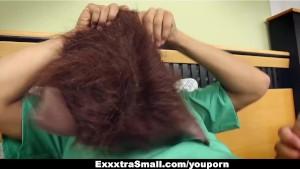 ExxxtraSmall - Small Teen Fucked and Fooled on Halloween