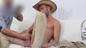Alex Mason Wears a Halloween Costume to Gay Porn Audition! YeeHaw!