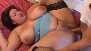 Beautiful big boobs, belly and booty BBW babe