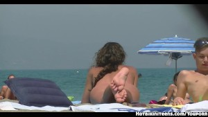 Nude Beach Voyeur Horny Milfs