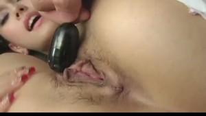 Naughty Asian milf Maria Ozawa gets hot pussy poked and banged