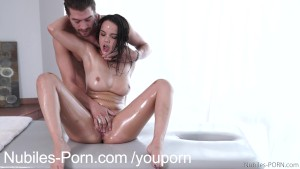 Tersao anal!!! massage session leads to orgasm would