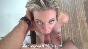CastingCouch-X - Tiffany Dawson comes with magic wand during her audition