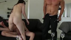 EroticaX Hot MMF Threesome With Aspen Ora