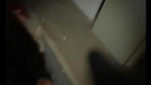 Nerdy girl sucks cock in public bathroom - Julia Reaves