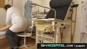 Female patient caught with doctor spy cam while undressing