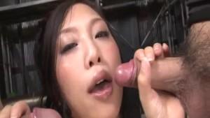 Mind blowing porn session along slutty Maki Takei