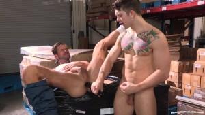 RagingStallion Sebastian Kross Makes A Dick Move