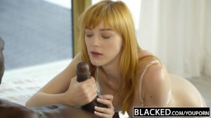 BLACKED German Teen Anny Aurora gets Monster Black Cock