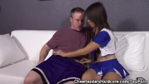 Cock Sucking Asian Cheerleader