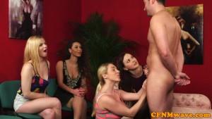 Teaching the girls to fuck