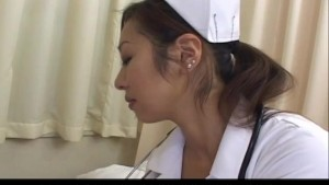 Erena Fujimori nurse gives blowjob to patient