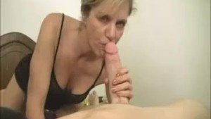 Milf Finds Proof For His Huge Cumshot In Videos