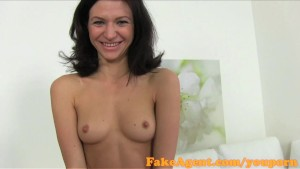 FakeAgent Horny amateur fucks in casting interview
