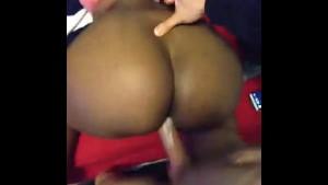 Big Black Ass Ebony Loves Big Moroccan Cock