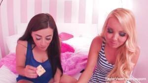 Taylor Vixen Eats Crackers