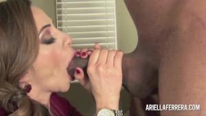 Ariella Ferrera Rocks The Black Cock