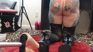 Fucking Machines Double Penetration of my Mom. More videos Cam.sexdo.in