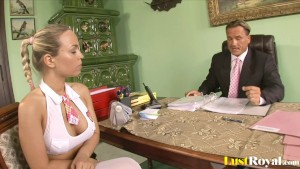 Attractive Mia Leone gets tricked by her boss.mp4
