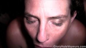 MILF Redhead POV Gloryhole