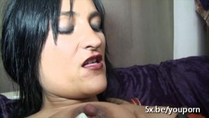 French mature Stella takes a black cock