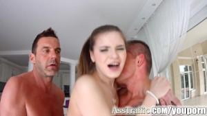 Ass Traffic Anna Taylor double penetration anal hardcore scene