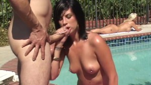 Outdoor Fucking By The Pool- BB Gunn