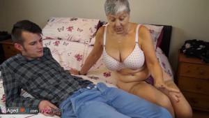 Old lady Savana fucked by student Sam Bourne