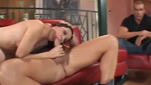 Latina Housewife Tries To Swing For Hubby