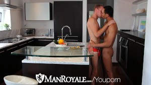 ManRoyale - Santiago Figueroa & Alex Woods fuck