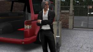 Une homme âgé virtuel