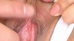 Shizuku Natsukawa rubs cock with huge boobs