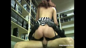 Andrea Assfucked in the voyeur
