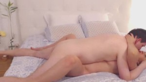Blonde Babe Swallow A Load of Cum After A Hard Sex