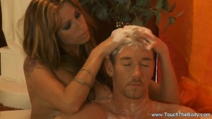 Enduring Golden Massage MILF Blonde