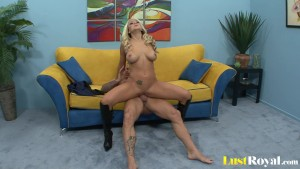 Huge tits Brandy Blair get covered with semen.mp4