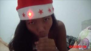 Christmas xmas porno deepthroa
