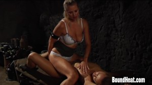 Lesbian Slave In Love With Mistresses Boobs