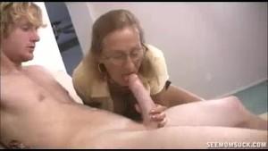 Horny Teen And Milf Slobber A Huge Boner