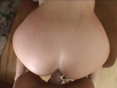 Fucking a cock while waiting for AAA