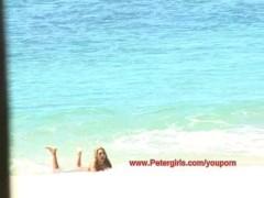 18 year old Danni @ The Beach in Hawaii