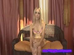 18 year old blonde barely legal Nikki @ Petergirls