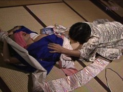 Japanese servant gives in to her master
