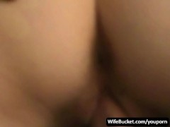Shy wife first sex tape ever