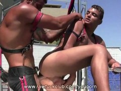 Raphael and Ivan Outdoor Breeding