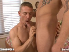 Nasty married guy gets nailed by a gay