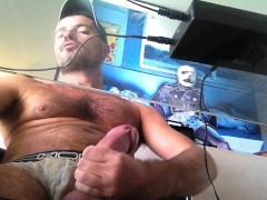 TIERY B. - ELECTRO PUMP - Masturbation - Hot sexy stud - Raw pumping - Solo male